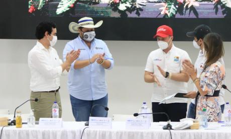 Aprueban más acciones en el Pacto por el Golfo de Morrosquillo