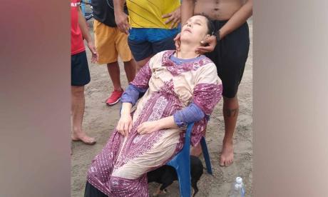 Mujer hallada en alta mar habría sufrido trauma psicológico