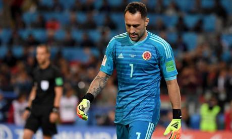 David Ospina, otra baja dolorosa para la Selección Colombia