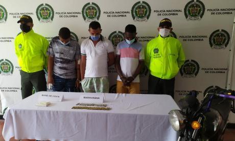 Caen tres de 'Los Caraduras' acusados de sicariatos en Soledad