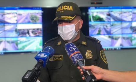 Granada usada en atentado a policías era una IM-26: Policía