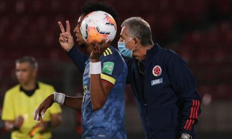 """""""Colombia ha estado fantástica, el segundo tiempo fue nuestro"""": Queiroz"""