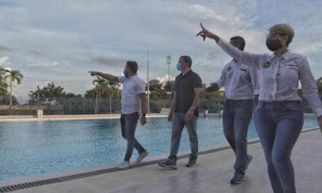 Concejales de Cartagena visitaron escenarios deportivos