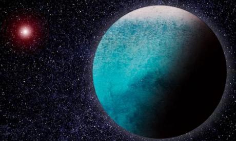 """Científicos descubren lo que podría ser un """"mundo acuático"""""""