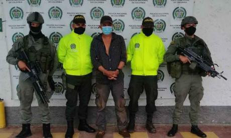 Capturado presunto cabecilla de 'los Caparros' en el sur de Córdoba