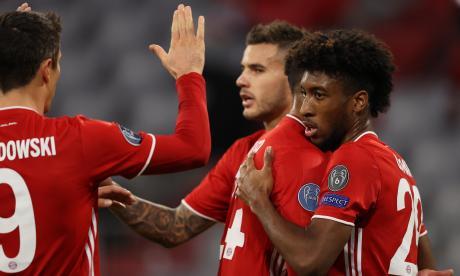 El Bayern aplasta al Atlético de Madrid en el arranque de la 'Champions'