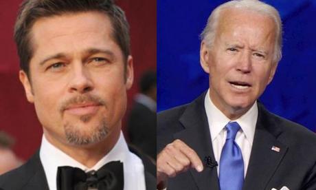 Brad Pitt respalda a Joe Biden en un nuevo anuncio de campaña