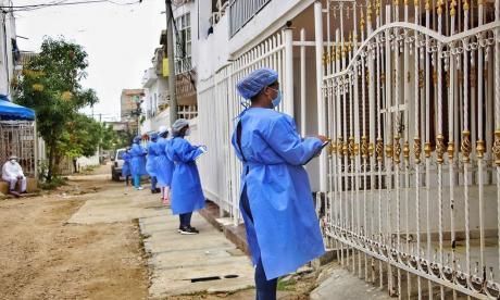 Cartagena pasó a ser ejemplo nacional en manejo de la crisis