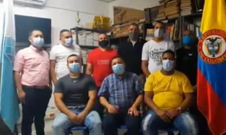 En video   Presos de la cárcel de Santa Marta piden poder ver a sus familias