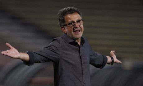 Juan Carlos Osorio no venía consiguiendo buenos resultados con el cuadro verdolaga.