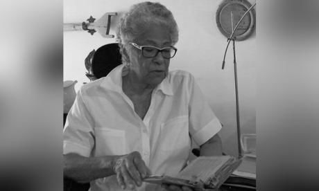 Hazel Robinson, la cronista de San Andrés en Libraq