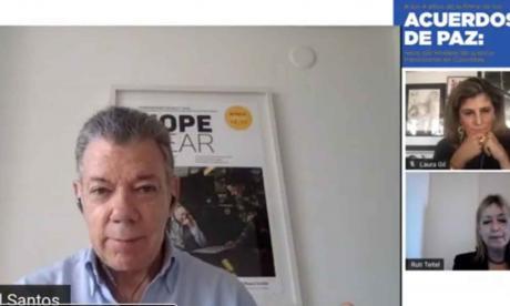 No es posible derogar el acuerdo ni la JEP: Santos