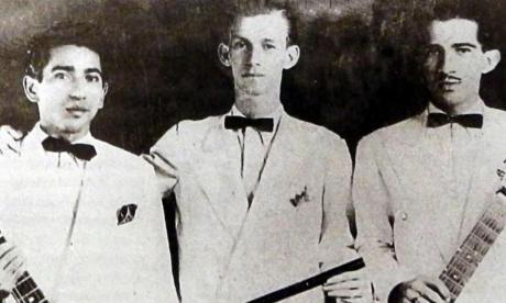 Guillermo Buitrago (centro) nació el 1 de abril de 1920.