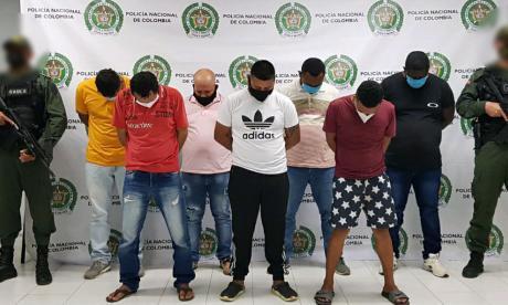 Policía realiza redada contra presuntos extorsionistas en Córdoba