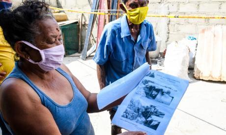 Problema de deslizamiento de las casas en Puerto sigue sin solución