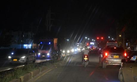 A oscuras sigue un sector de la Avenida Circunvalar