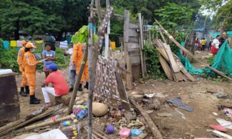 Margen derecha del Guatapurí es la más afectada.