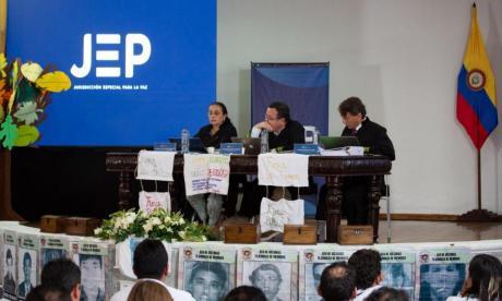 JEP cita a 25 personas por conflicto armado en Cauca y Valle del Cauca