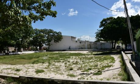 Aspectos de la cancha del barrio Las Margaritas donde habría ocurrido el caso.