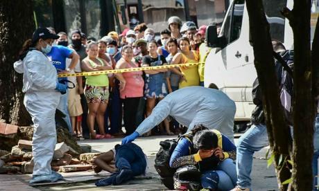 Matan a tiros a presunto atracador en el barrio Conidec