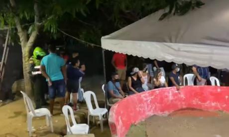 En video | Policía desarma gallera clandestina en Puerto Colombia