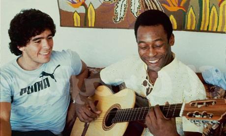 """""""Perdí a un gran amigo y el mundo perdió una leyenda"""": Pelé, sobre Maradona"""