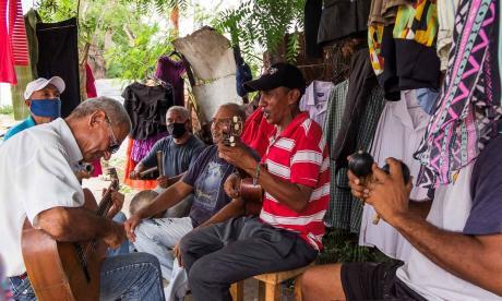 La gaita critica el poder. También le canta a la familia, el amor y la Virgen de la Chiquinquirá o 'Chinita'.
