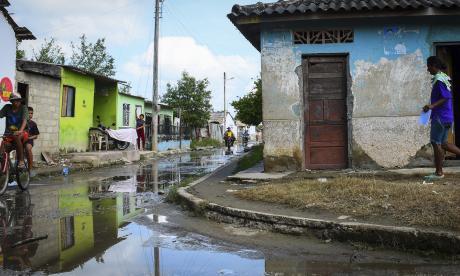 Santa Lucía y Suan, los contrastes de la catástrofe