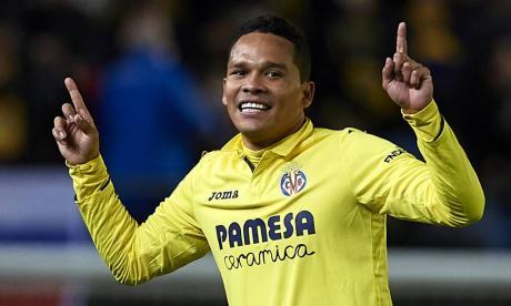 Bacca se suma a la lista de lesionados del Villarreal