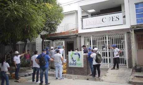 Adelantan operativos de sellamiento a construcciones ilegales en Soledad