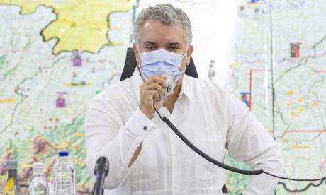 """Duque asegura que Maduro tiene montada una """"opereta"""" para las elecciones"""