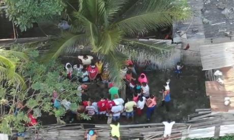 En video   Gallera clandestina fue desmantelada por la Policía