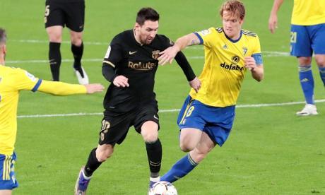 Lionel Messi está entre los tres finalistas para el premio.
