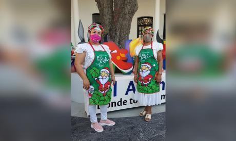 Durante la Fiesta de Velitas se vendieron más de mil pasteles