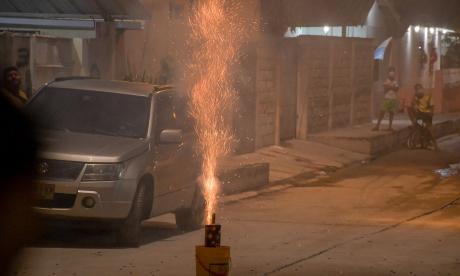 Noche del 7 y madrugada del 8 dejan un saldo de 47 quemados en el país