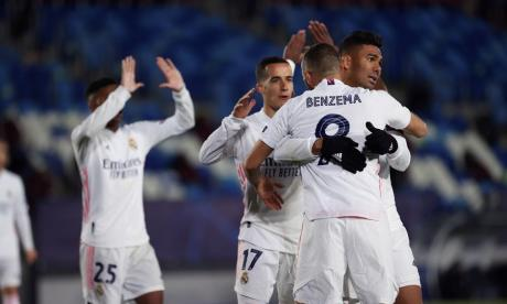 El Real Madrid certificó su presencia en los octavos de final de la Liga de Campeones.