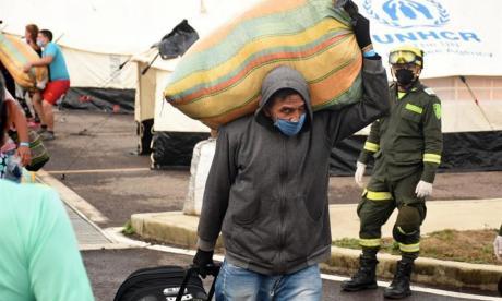 La UE enfatiza su compromiso con Colombia en la ayuda a migrantes venezolanos