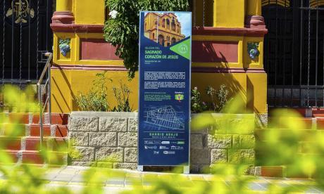 Ruta de la Marimonda tiene 15 puntos en el Barrio Abajo