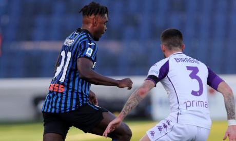 Con tres colombianos, Atalanta goleó 3-0 a la Fiorentina