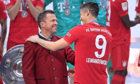 Lothar Matthäus y Robert Lewandowski.