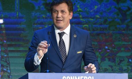 Alejandro Domínguez, presidente de la Confederación Sudamericana de Fútbol.