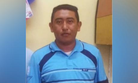 Jairo Uriana Epiayú, asesinado.