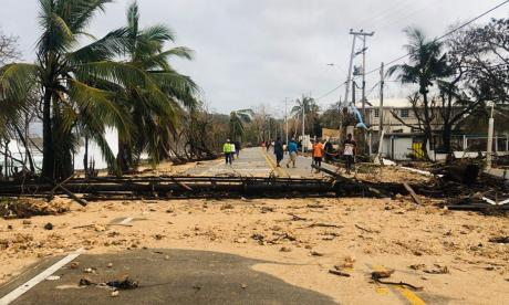"""El archipiélago de San Andrés """"quedará mejor conectado"""" tras paso de Iota"""