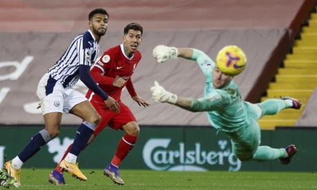 Liverpool no pudo dilapidar ante el West Bromwich y cedió puntos