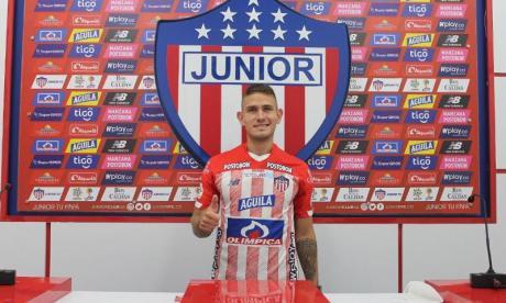 Juan David Rodríguez, volante antioqueño de 28 años de edad, fue presentado oficialmente en la noche de este lunes.
