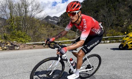 Operan a Winner Anacona tras sufrir un accidente haciendo ciclismo de montaña