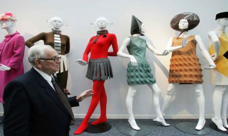 Fallece a los 98 años el diseñador Pierre Cardin