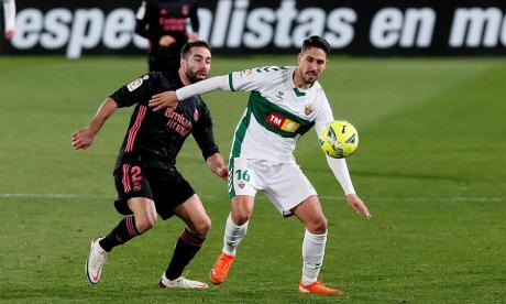 El partido del Real Madrid y el Elche finalizó con un empate 1-1.