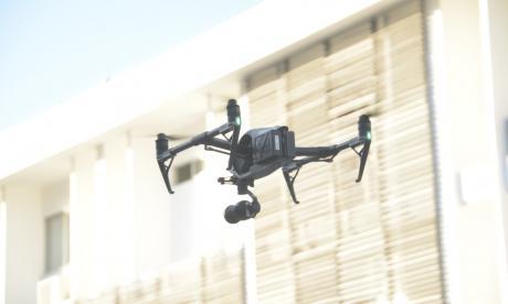 Drones, los ojos de la Policía en el aire