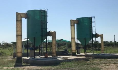 Entregan sistema de tratamiento de aguas